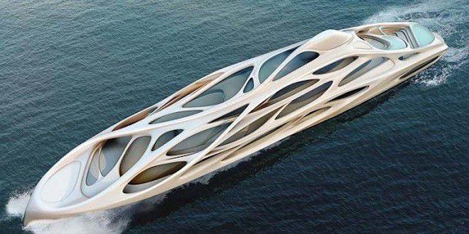 Замысловатая яхта