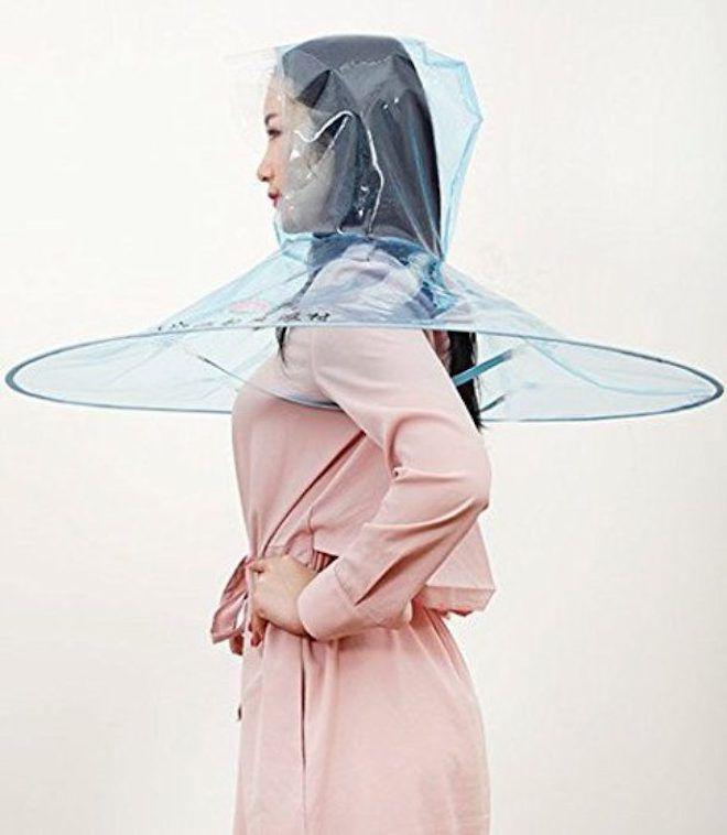 Зонт-плащ