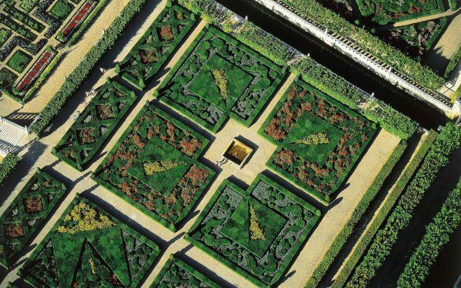 Сады замка Виландри, Франция