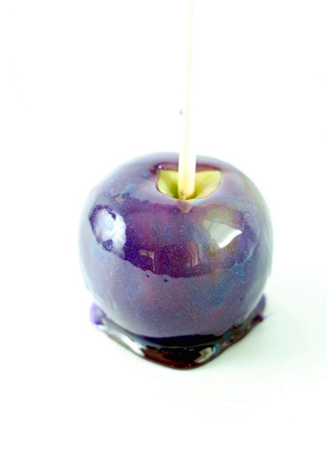 Яблоко в космической глазури