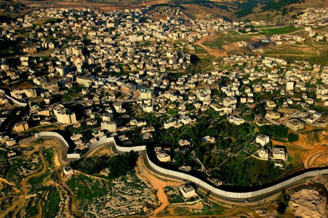 Израильский разделительный барьер, Израиль