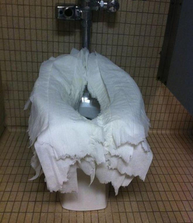 в туалет не дома