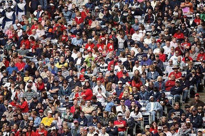 Толпа на трибунах