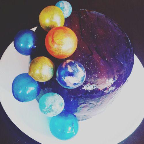 торт солнечная система