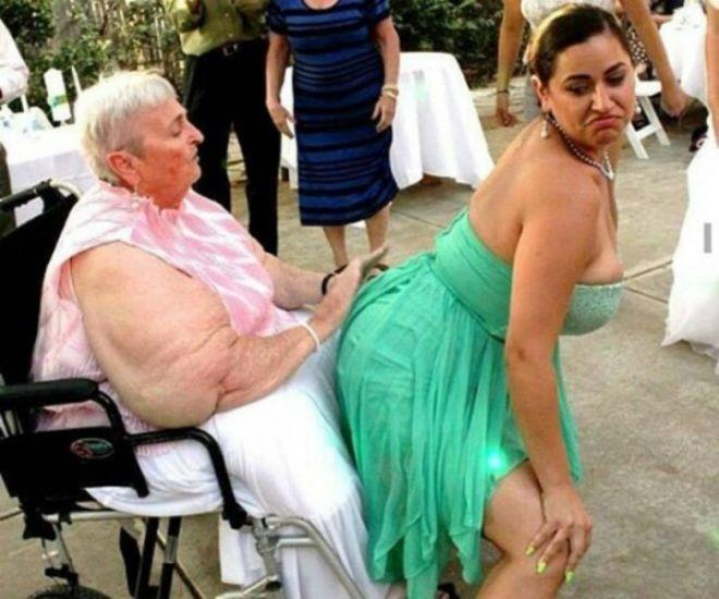Бабушка и девушка