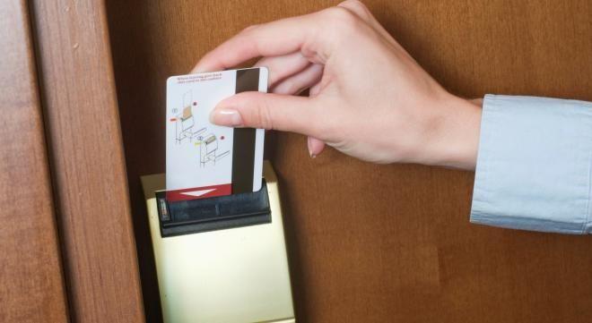 Гостиничная ключ-карта