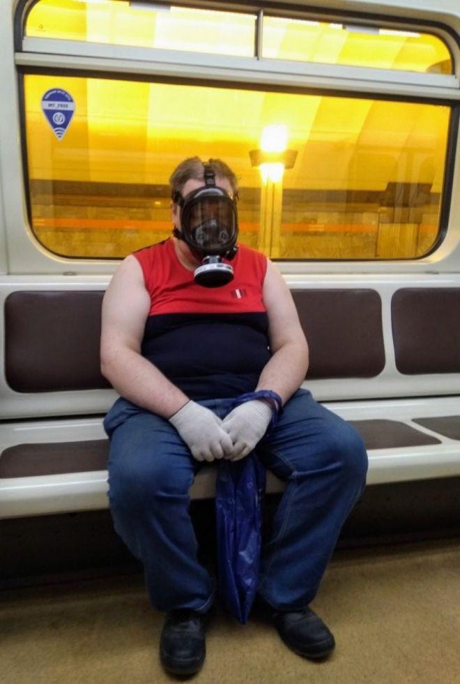 Чудики в метро - Страница 2 3koronavirus