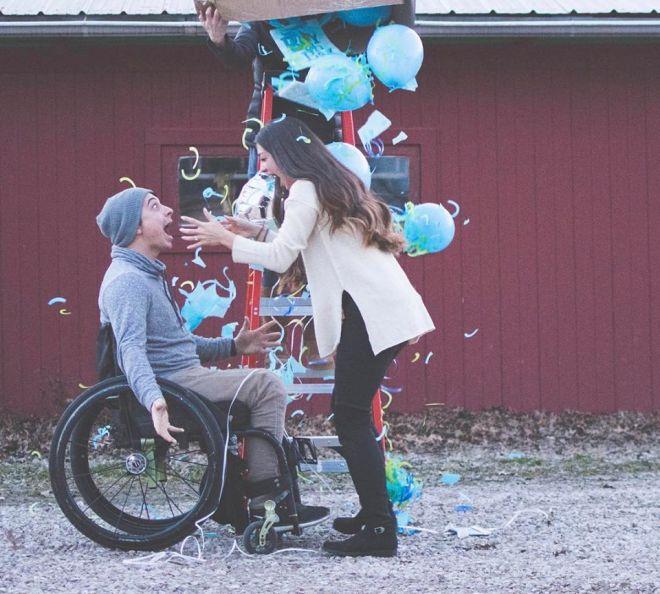 Счастливые влюбленные