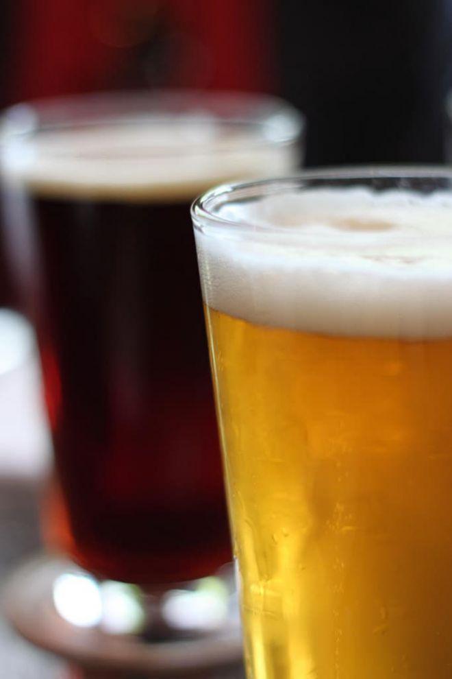 Стаканчики с пивом