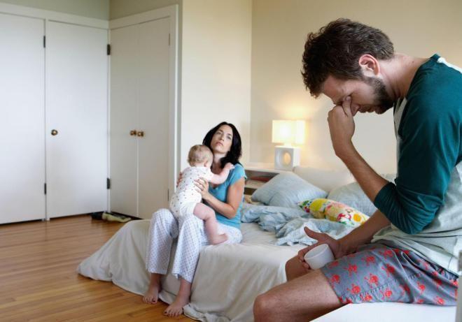 Страх, что супруг будет плохим отцом