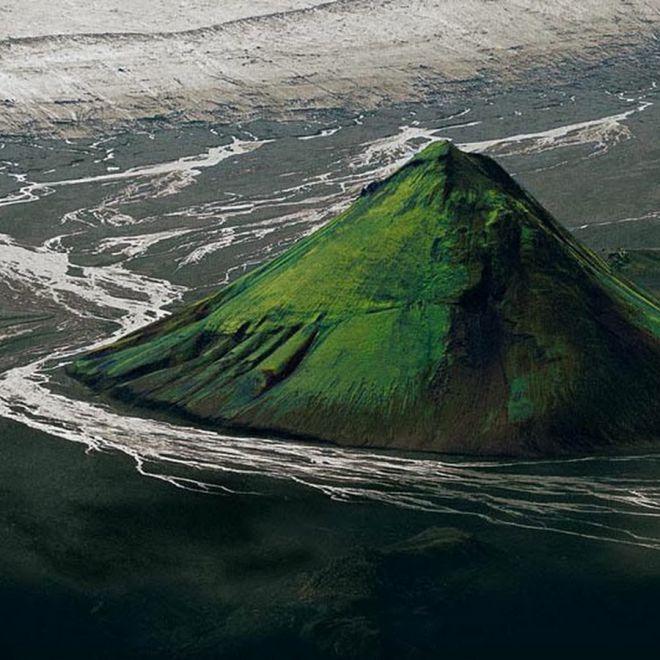 Вулкан Мэлифел в Исландии