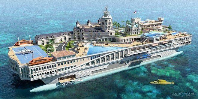 Яхта-город