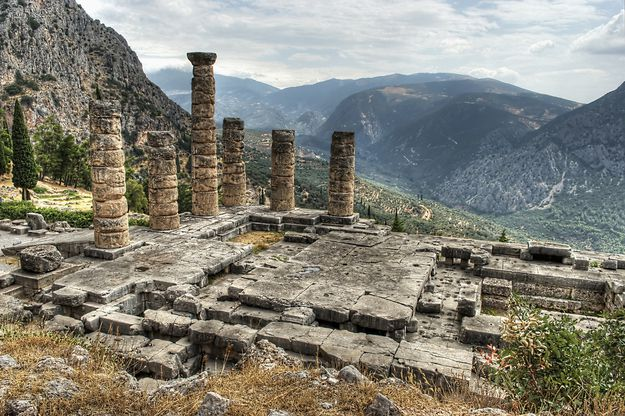 Архтектура на горе Парнас