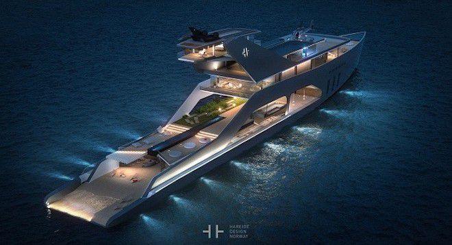 Мега-яхта