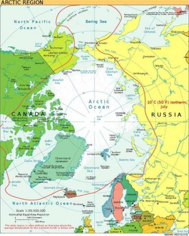 Полюсна карте
