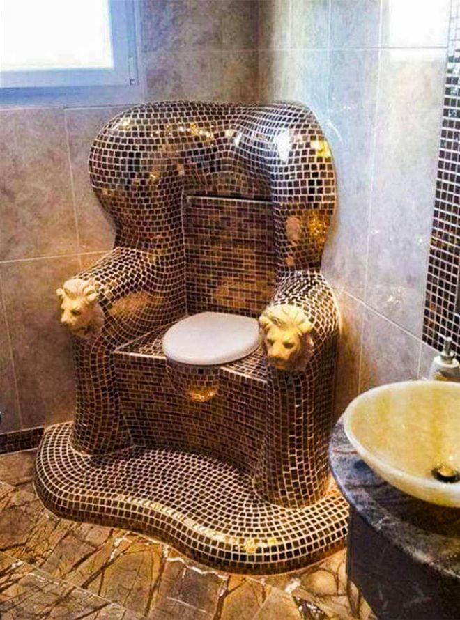 Туалет-трон