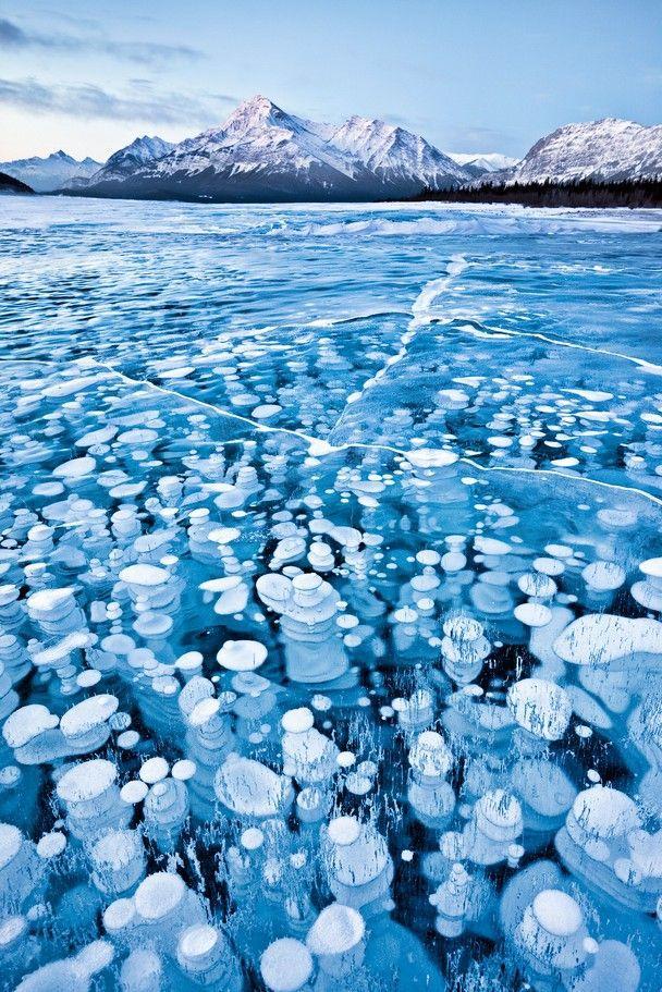 Замерзшие газовые пузыри