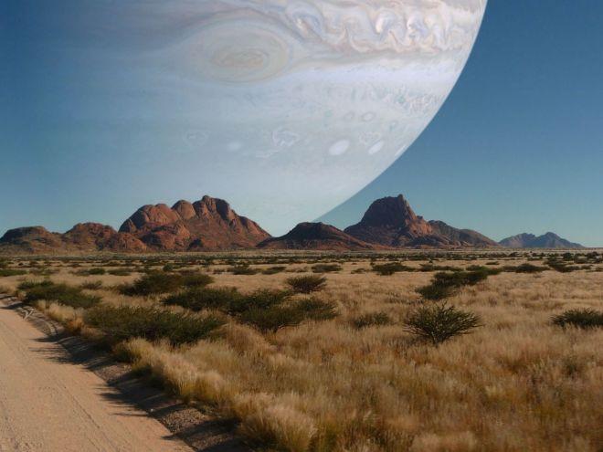 Юпитер вместо Луны