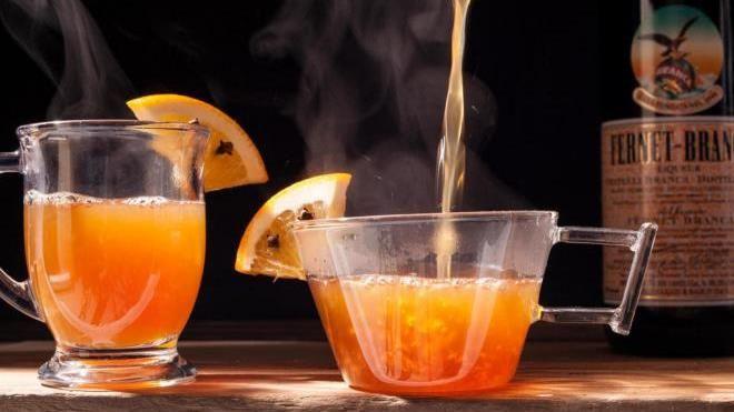 Алкогольный согревающий компот