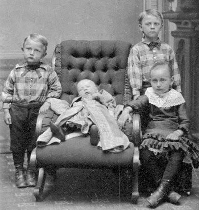 фото умерших детей