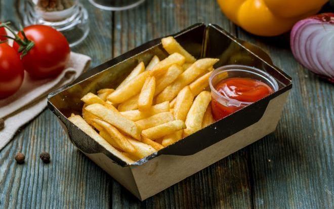 Картофель фри из фастфуда