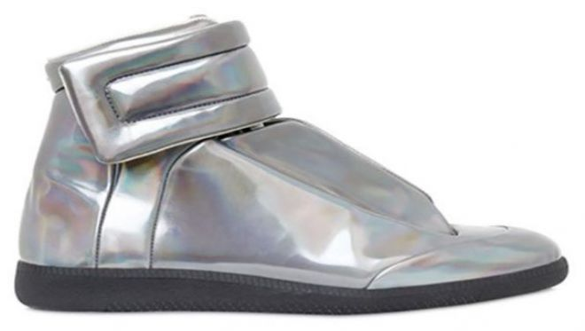 Кроссовки Margiela Metallic Future