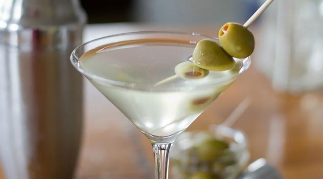 SOS-напиток с оливками