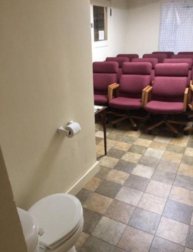 Туалет в аудитории