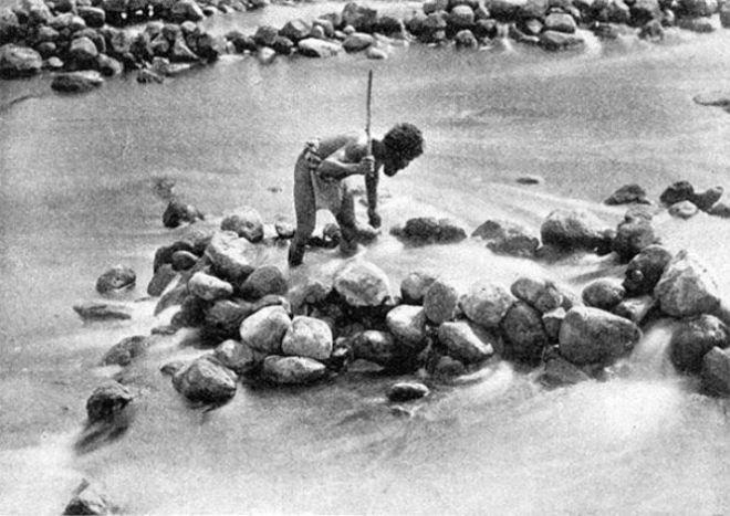 Абориген и камни