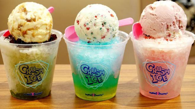 Холодный напиток или мороженое