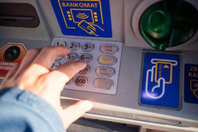 Кнопки на банкомате