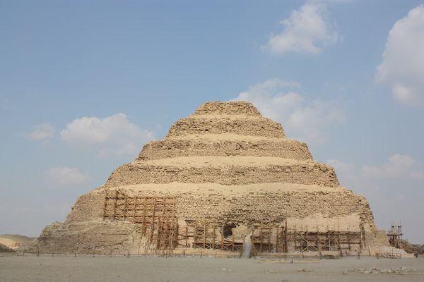 Пирамида Джосера, Египет