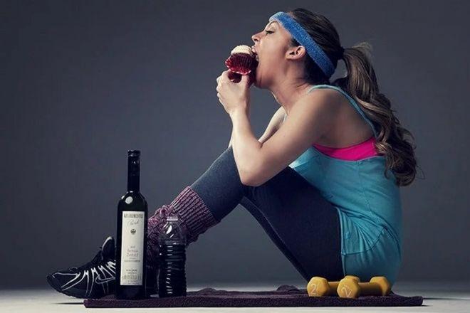 Спорт устраняет негативные последствия алкоголя