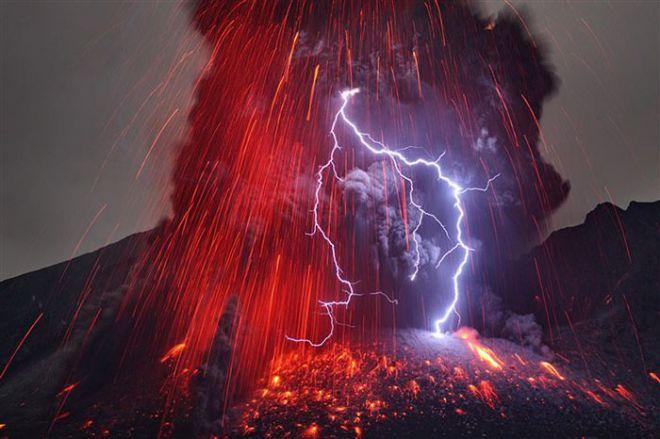 Вулканическая молния 1