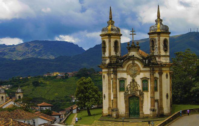 Ору-Прету, Бразилия