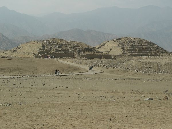 Караль, Перу
