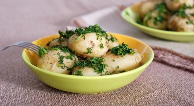 Картофель способствует похудению