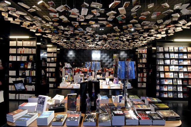 Книжный магазин в Брюсселе