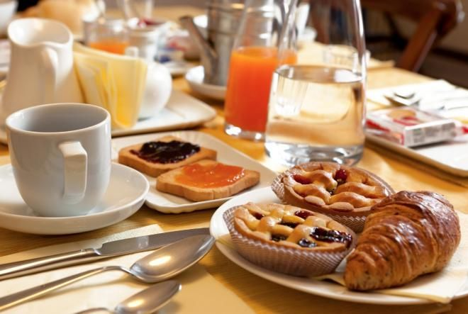 Сладкое на завтрак