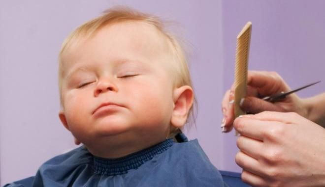 В год ребенка нужно побрить
