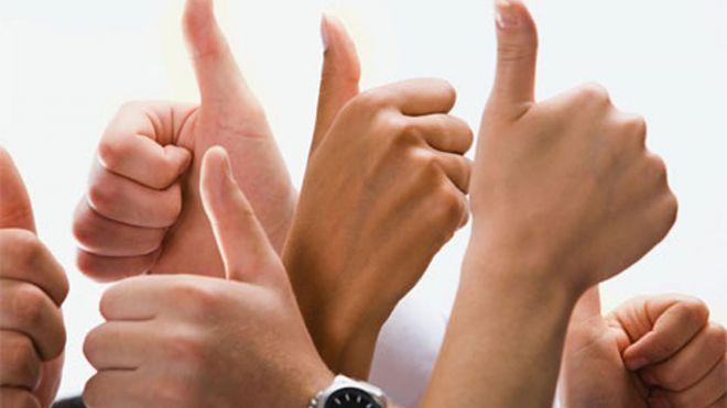 Руки показывают жесты