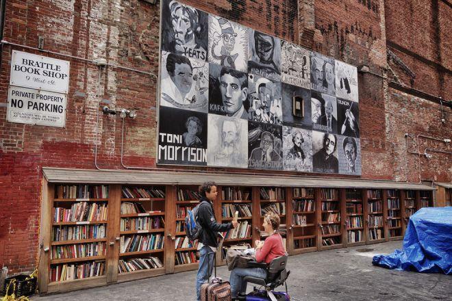 Книжный магазин в Бостоне