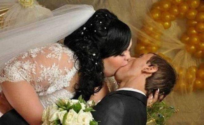 невеста чуть не съела