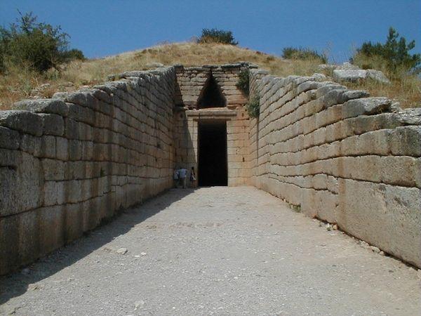 Сокровищница Атрея, Греция