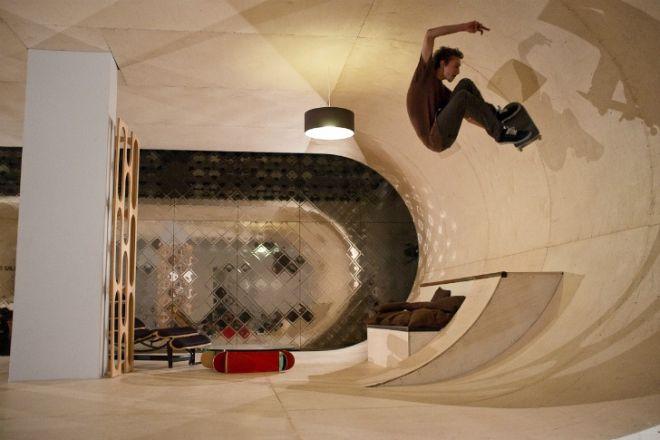 Дом скейтбордиста