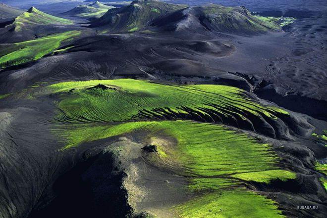 Горная местность в Исландии