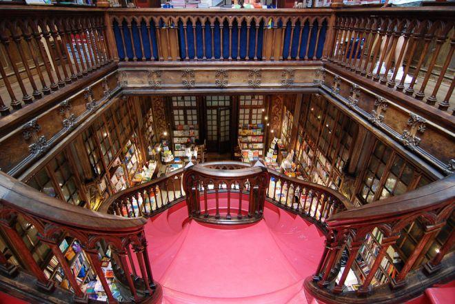 Книжный магазин в Порто