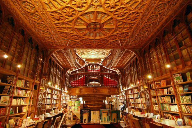 Книжный магазин в Португалии