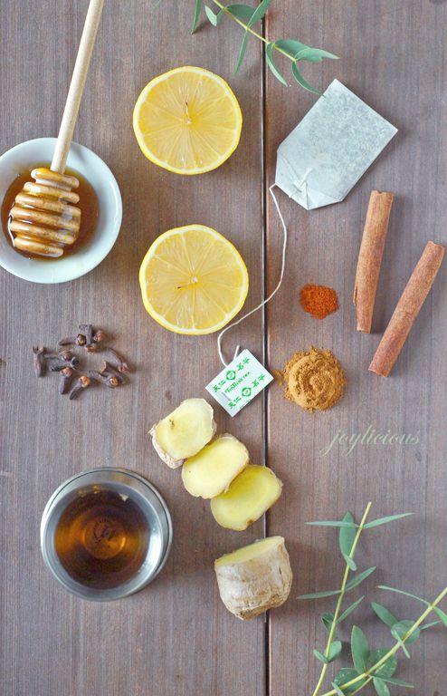 Лимонно-имбирный пунш