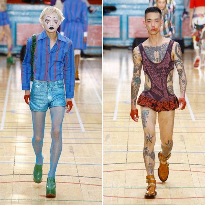 Модная неделя в Лондоне